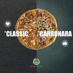 Classic Or Carbonara Pizza