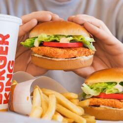 Burger King Crispy Chicken Burger