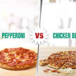 Pepperoni Or Chicken Bbq